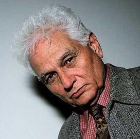 """... der Kunst wie im Leben letztlich nur das einen Sinn macht, was keinen eindeutigen hat."""" Martin Seel in seinem Nachruf auf Jacques Derrida in DIE ZEIT"""" - derrida-1997"""